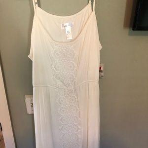 NWT white dress